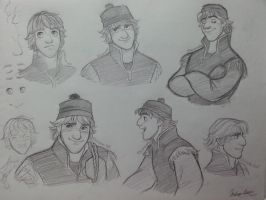 Kristoff Study by Andrea365