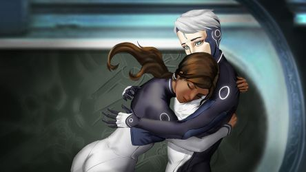 Safe in your arms by mongdej