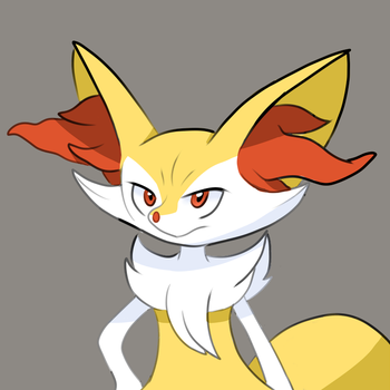 Braixen the Fluffmage by kyonshee77