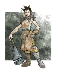 Steampunk Mechanic by cwalton73