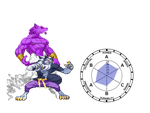 Stand User Jon Talbain Stand Name Wolf Fang Fist by RapterDanny