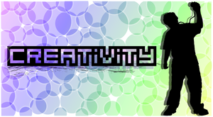 iPod Poster 1 - Creativity by ClassicTeam