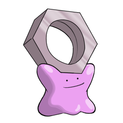 Meltan Ditto by Work-Mikhay