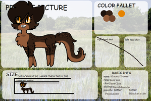Refsheet - Almondflower by Sweetiejack