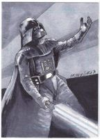 Sketchcard:StarWars: Vader by GraphicGeek