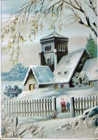 Victorian Advertising - Winter's Peace by Yesterdays-Paper