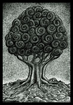 Snail Tree by offermoord