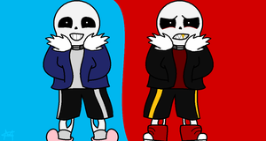 Sans,sans Underfell by Superfluffy28