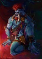 Vol'jin by MissTakArt