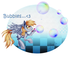 Bubbles! :: Deerpy Hooves :.. by AnthoCat
