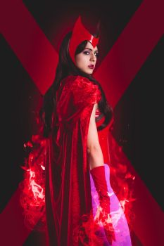Scarlet Witch by JubyHeadshot