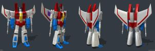 G1 Starscream - Turnaround by Venksta
