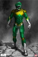 Iron [Green] Ranger by thesometimers