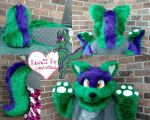 Hort The Jackal (commission) by Kawaii-fur-costumes