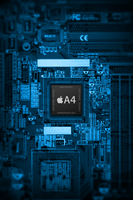 iPhone 4 A4 Chip Wallpaper by iTeppo