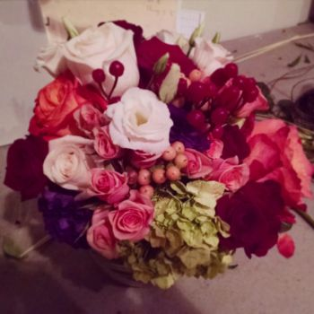 frist bouquet by Sparia