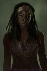 Michonne from The Walking Dead by DziKawa