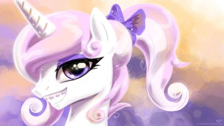 Fleur Portrait by KP-ShadowSquirrel