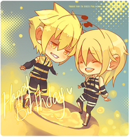 HAPPY BDAY BEE by pastelv