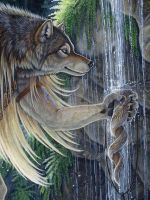 Sacred Waters - Detail by Goldenwolf