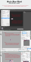 Resize Pixels in PS or Paint Tutorial by twin-tail