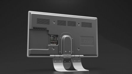 Back of my 3D TV - animated by contmike