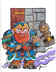 DUNGEON HEROES - DWARF by melies