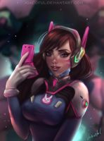 D.Va - Overwatch by joacoful