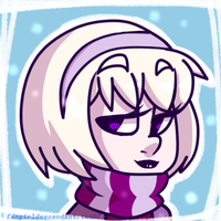 Rose Lalonde (Christmas Icon) (more on tumblr) by AnInnocentDemon