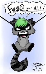 Jack the Ultimate...Raccoon?  by BethanyAngelstar
