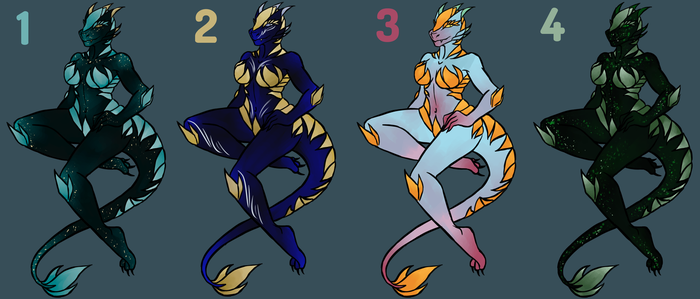 Dragon Adoptables OPEN - [AUCTION: POINTS/PAYPAL] by Shinigami--Apples