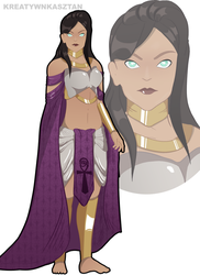 Academy Heroine (Heroes of Might and Magic) by KreatywnKasztan