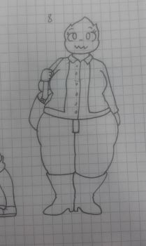 Challenge: draw your OC : formel clothes by Clemi1806