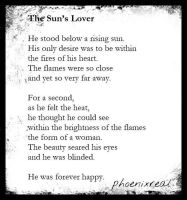 The Sun's Lover by phoenixreal