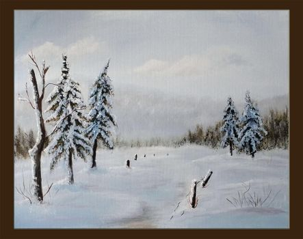 Under the snow by Galadriel34