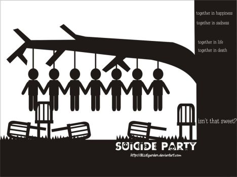 Suicide Party by BLUEgarden