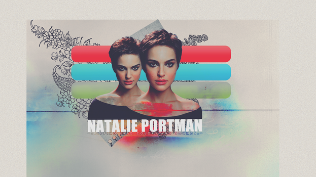 Dipping Into Colors and Sounds - Natalie Portman by Liddl15
