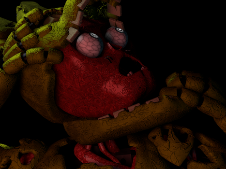 [C4D] My Name is Springtrap by GaboCOart