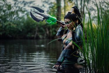 League of Legends - Headhunter Nidalee by Minus10GradCelsius