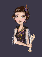 Ever After High OC: Christine Andersen. by Uruseline