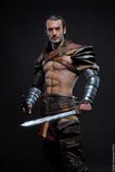 Honor and Glory - Gannicus Cosplay : Spartacus LC by LeonChiroCosplayArt