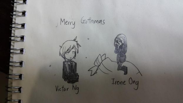 Merry Gothmas (I mean Christmas) by Great-Seraphim-Angel