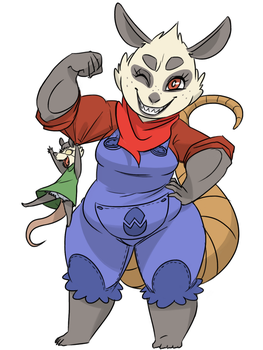 Poppy O'Possum by thelivingmachine02