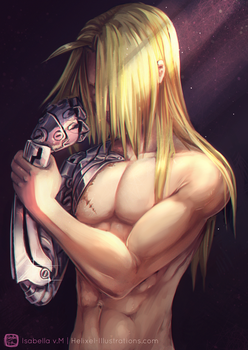 How can I repay you, brother mine? Alt Ver by Helixel