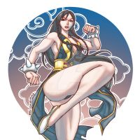Street Fighter V Chun li by gaudiamo