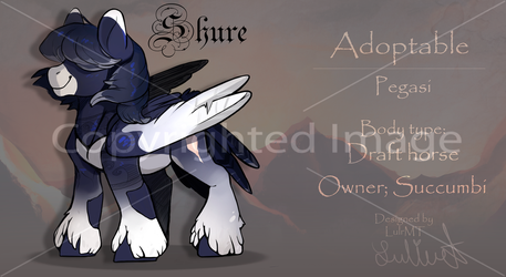 Adoptable (OWNER: succumbi) (SOLD) Name: Shure by LuleMT