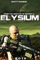 Elysium movie poster by DComp