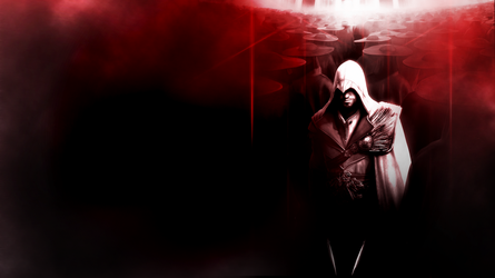 Ezio Auditore Wallpaper by Pateytos