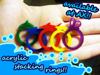 Free! Acrylic Rings by Icetigris