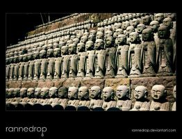 Child Statues at Hasedera by rannedrop